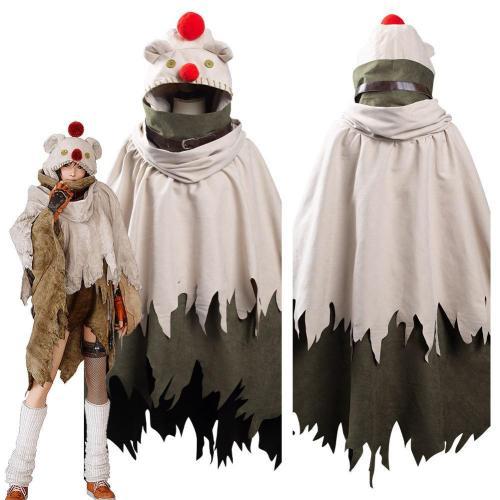 Final Fantasy Vii: Remake Intergrade Yuffie Kisaragi Moogle Cape Halloween Carnival Suit Cosplay Costume