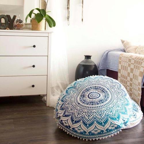 Boho Floor Pillow Cover