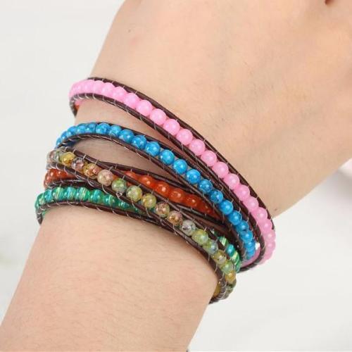 Earth Element Wrap Bracelet