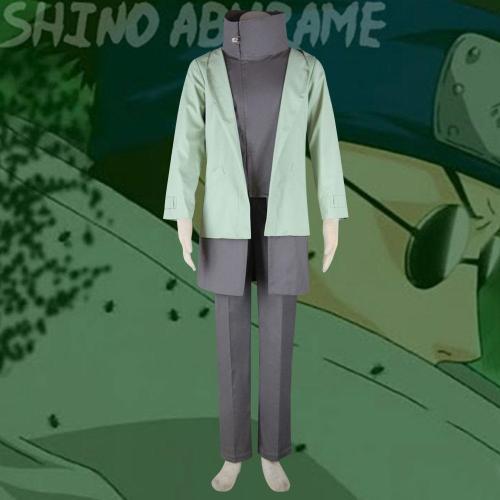 Shino Aburame From Naruto Halloween Cosplay Costume