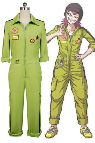 Super Danganronpa Kazuichi Souda Cosplay Costume Full Set Outfit Men Women Jumpsuit Custom