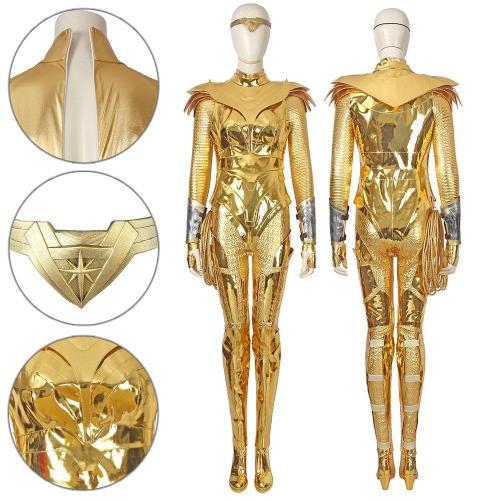Diana Prince Wonder Woman  Golden Cosplay Costume