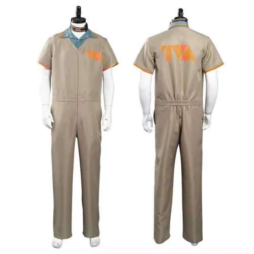 Tv Loki Cosplay Costume Loki Prison Jumpsuit Outfits Clothing