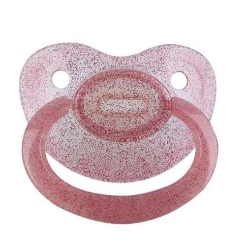 Purple Glitter Adult Pacifier
