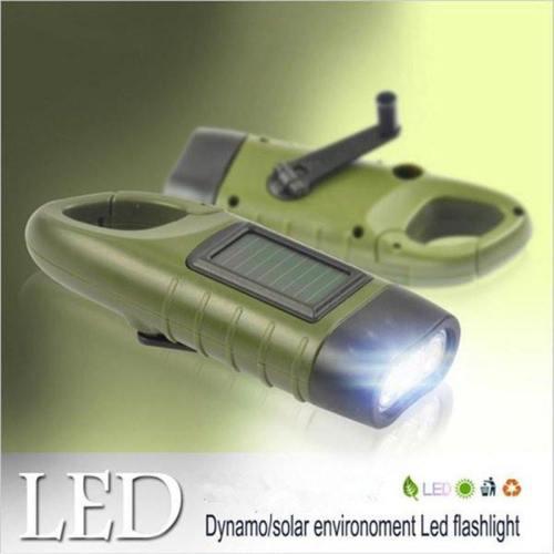 Dynamo Solar Power Flashlight