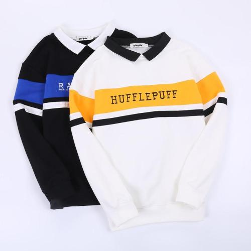 Harry Potter Four College Sweater Hufflepuff Ravenclaw Slytherin Cosplay Sweatshirts