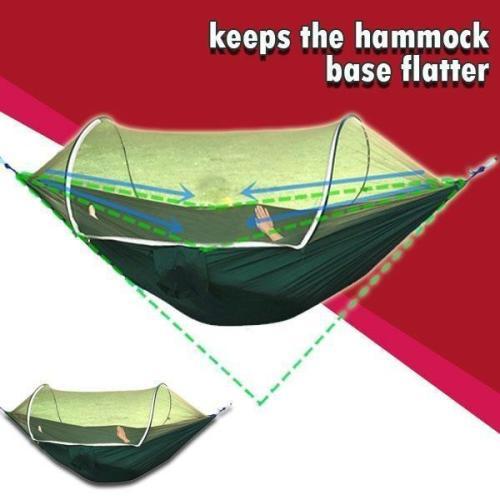Lockmesh+ Camping Netted Hammock