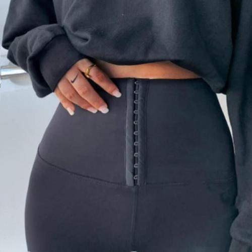 Tummy Control Waist Cincher Corset Leggings