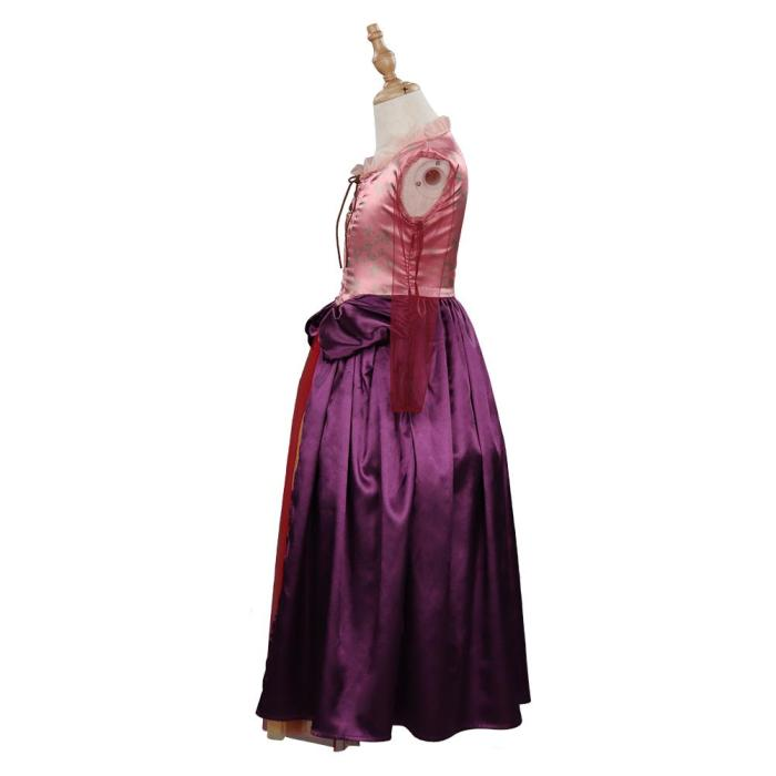Hocus Pocus Sarah Sanderson Kids Children Girls Dress Halloween Carnival Suit Cosplay Costume