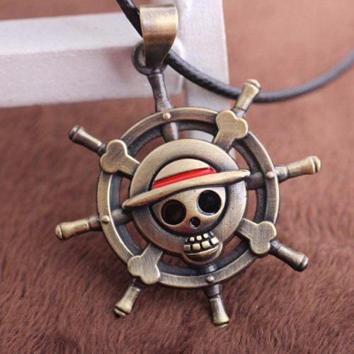 One Piece Rudder Necklace