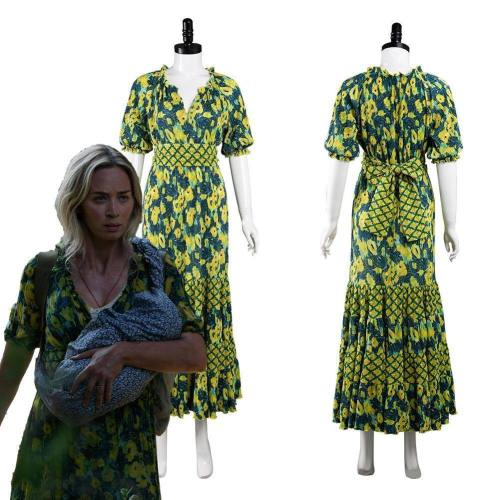 A Quiet Place 2 Evelyn Abbott Outfits Halloween Carnival Suit Cosplay Costume