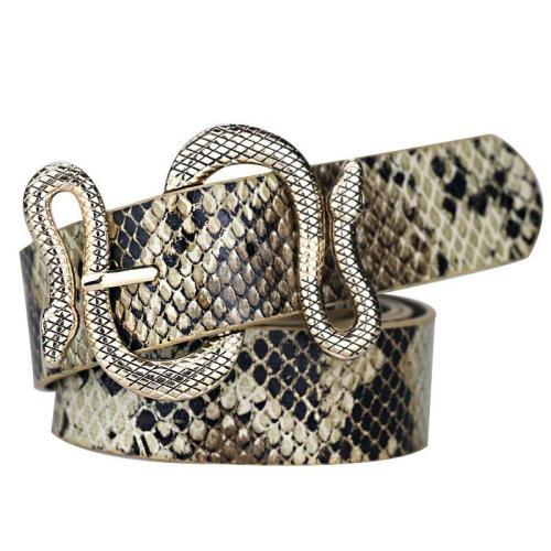 Snake Style Buckle Waist Belts