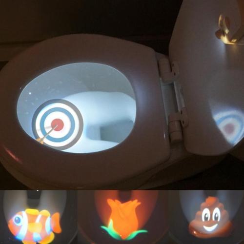 Toilet Projector Night Light