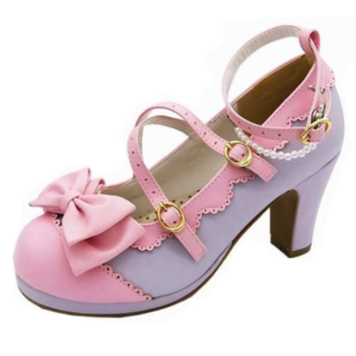 Pearl Embellished Heels
