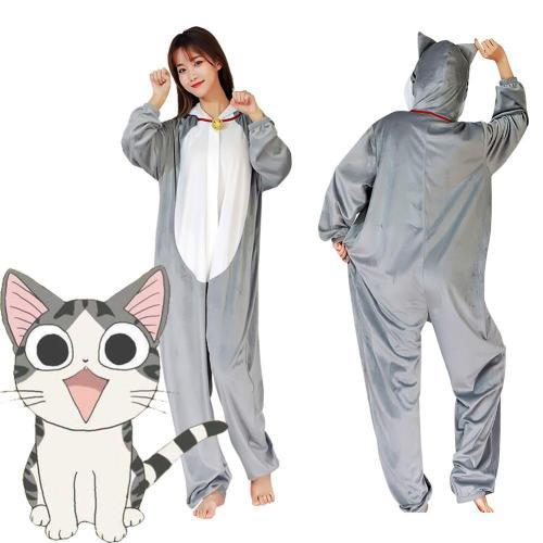 Anime Chi'S Sweet Home Yamada Chi Pajama Adult Unisex Onesies Polyester Sleepwear Pyjamas Halloween Carnival Costume Cosplay Costume