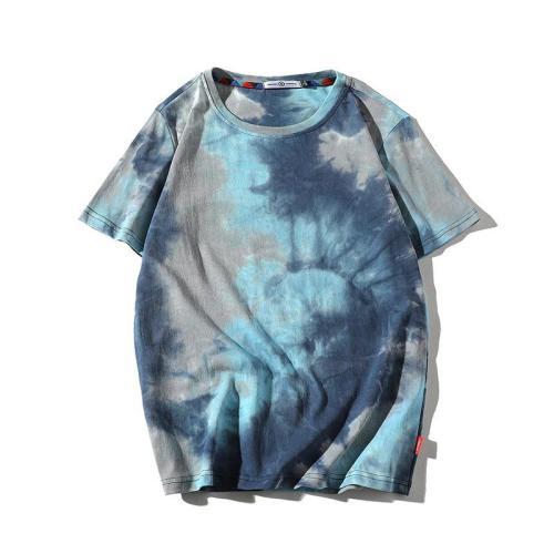 Summer Tie Dye Streetwear Fashion T-Shirts
