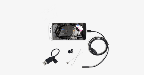 Endoscope Camera – Click Even Under The Water Now!
