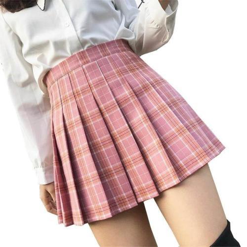 Tartan Plaid School Girl Skirt