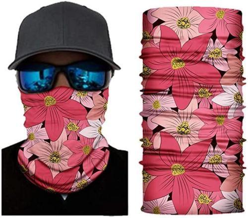 Seamless Face Mask For Women Men