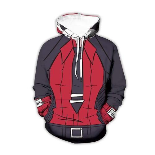Helltaker Game Role 1 Unisex 3D Printed Hoodie Pullover Sweatshirt