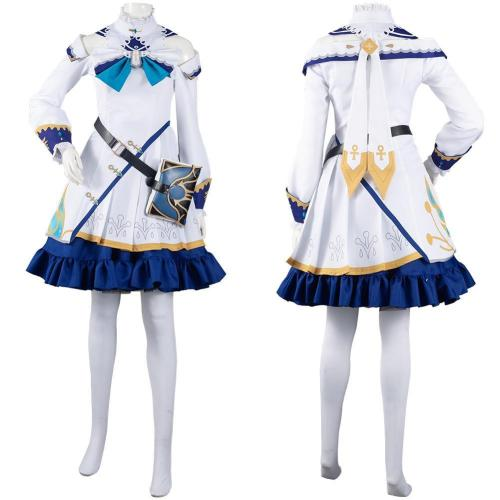 Genshin Impact Barbara Outfits Halloween Carnival Suit Cosplay Costume