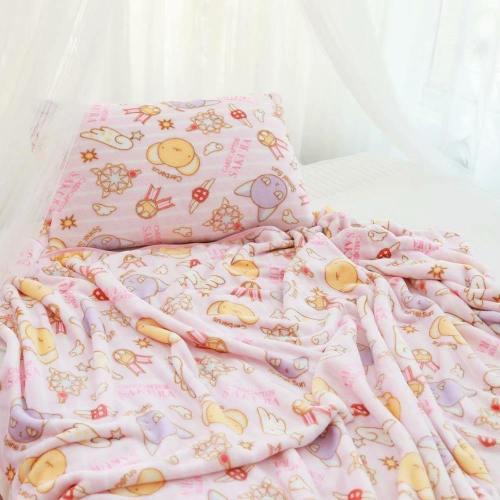 Magical Girl Fuzzy Blanket Set