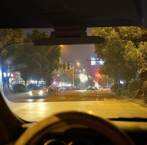 2 In 1 Car Sun Visor Day Night Hd Anti Glare Dazzling Goggle Driving Sunshade Mirror
