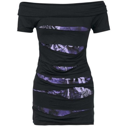 Hollow Mini Dress
