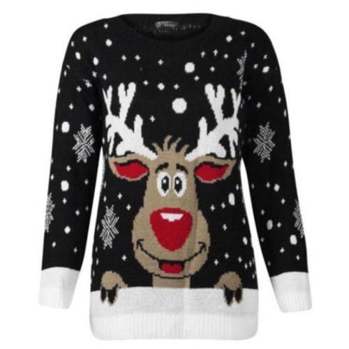 Reindeer Knit Sweater