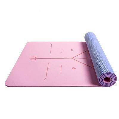 Body Aligning Yoga Mat