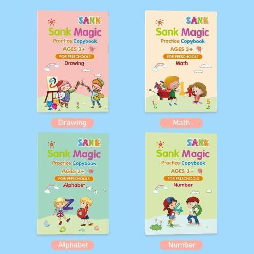 Sank Magic Practice Copybook
