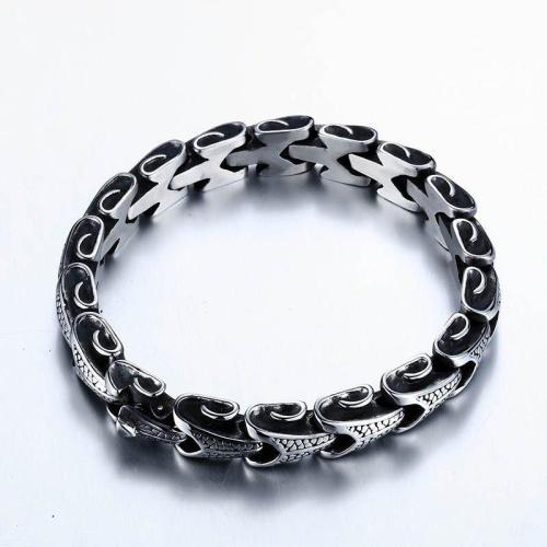 Eternal Dragon Steel Bracelet