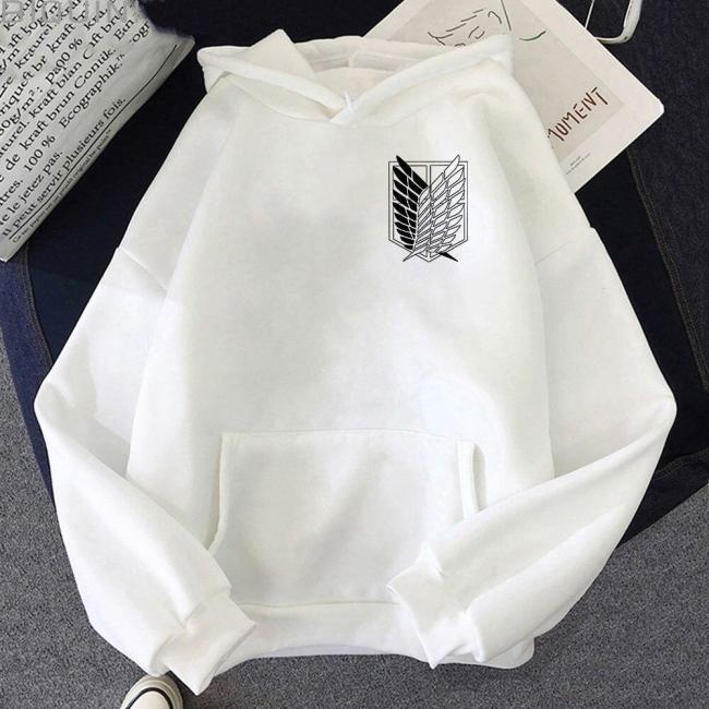 Attack On Titan Japanese Streetwear  Anime Investigation Team Male 90S Sweatshirts Graphic  Hoodie