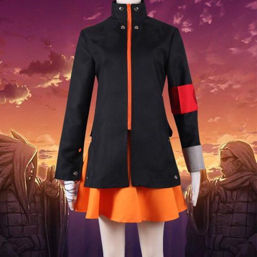 Female Uzumaki Naruto From Naruto Halloween Cosplay Costume
