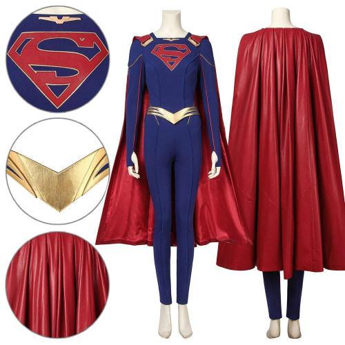 Kara Danvers Supergirl Season 5 Cosplay Costume