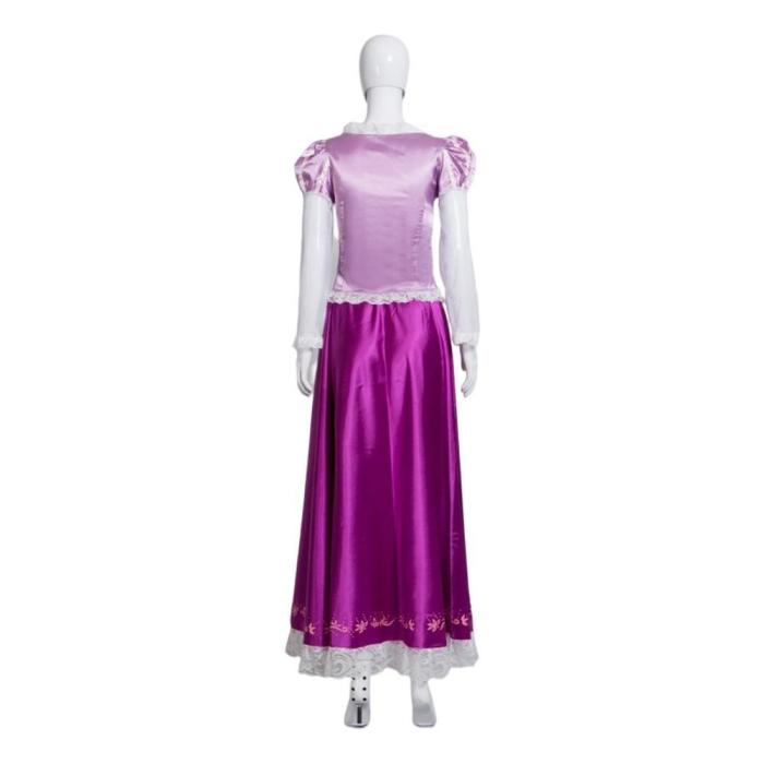 Tangled Rapunzel Dress Outfits Halloween Carnival Suit Cosplay Costume