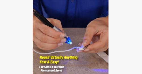 5 Second Super Glue With Uv Light Technology