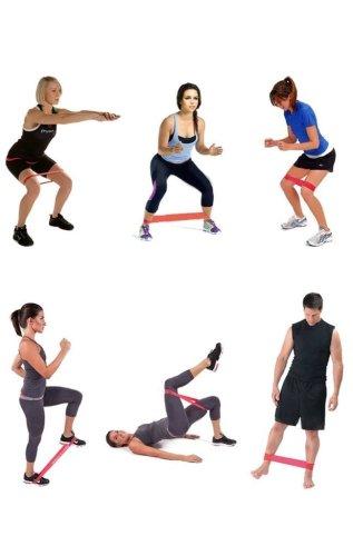 Fitness Resistance Bands (Set Of 5)