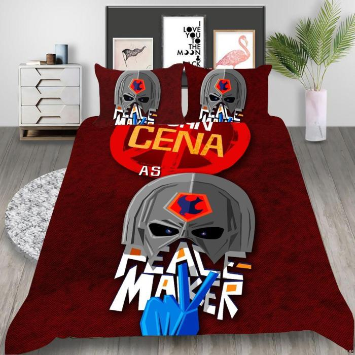 Suicide Squad Harley Quinn Cosplay Bedding Set Duvet Cover Pillowcases Halloween Home Decor