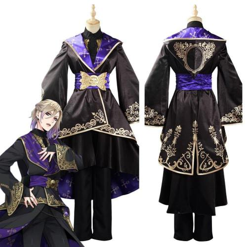 Game Twisted Wonderland Adult Women Dress Uniform Outfit Halloween Carnival Suit Cosplay Costume