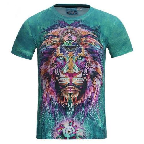 Spiritual Awarness Lion Shirt