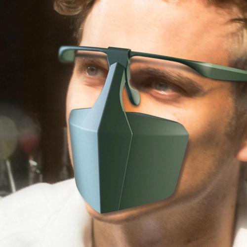Anti-Fog Splash-Proof Dust-Proof Face Cover