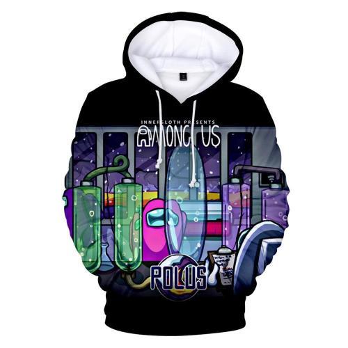 Adult Style-06 Impostor Crewmate Among Us Cartoon Game Unisex 3D Printed Hoodie Pullover Sweatshirt