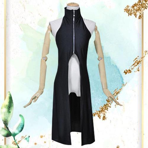 Konan From Naruto Halloween Black Dress Cosplay Costume