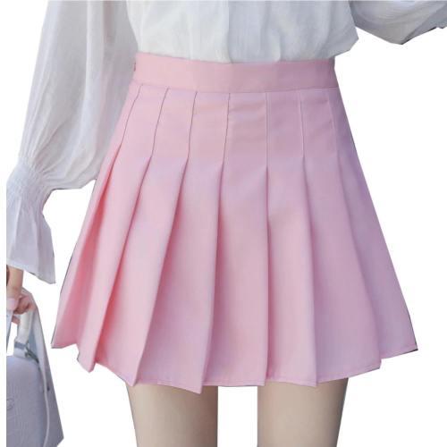 Preppy Pleated Skirt
