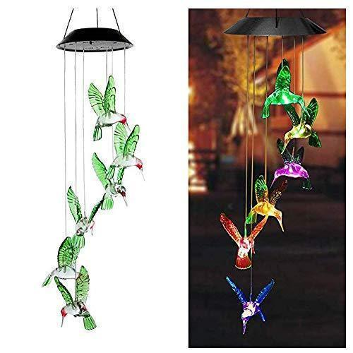 Solar Hummingbirds Decorative Lights