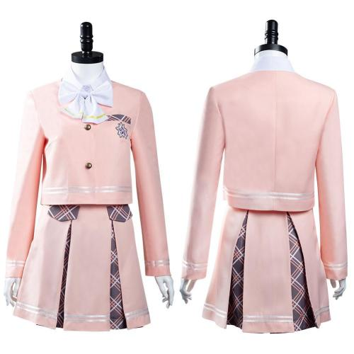 Aikatsu Planet! Seirei High School Uniform Skirt Outfits Halloween Carnival Suit Cosplay Costume