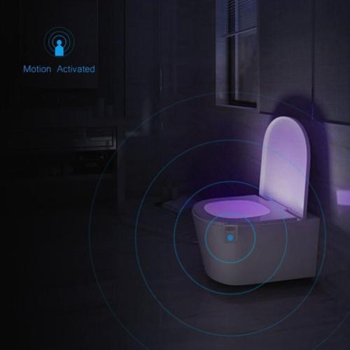 Uv Sanitizer Toilet Motion Sensor Light (16 Colors)