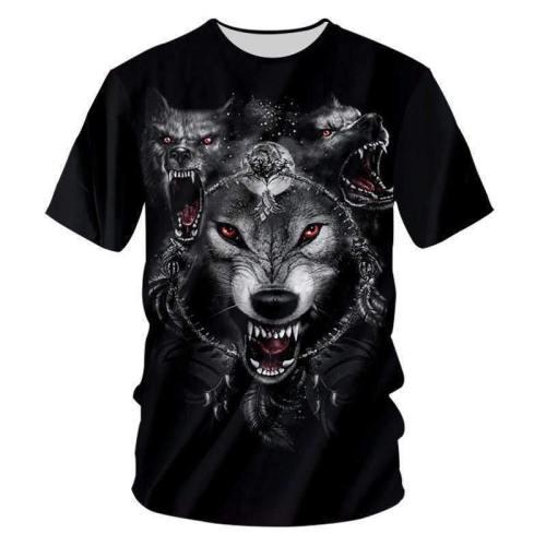 Men'S 3D Fashion Short Sleeve T-Shirt