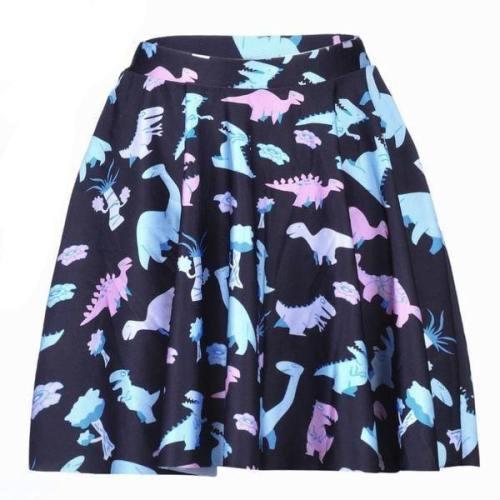 Pastel Dino Skirt